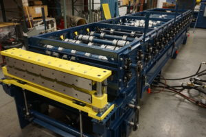 CUSTOMIZED ROLLFORMING SOLUTIONS – HYDRAULIC