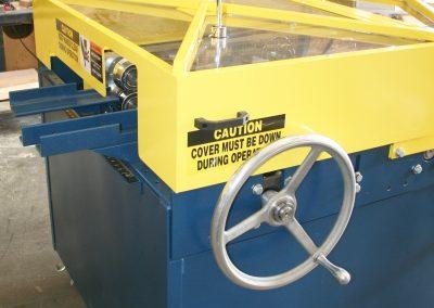 Hemming Rollformer Adjustment