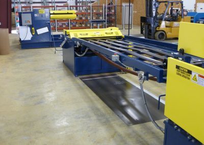 Titan Infeed Table - Metal Rollforming Systems